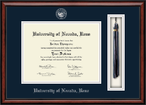 University of Nevada Reno Diploma Frame - Tassel Edition Diploma Frame in Southport