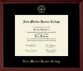 New Mexico Junior College Diploma Frame - Gold Embossed Diploma Frame in Camby