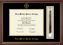 New Mexico Junior College Diploma Frame - Tassel Edition Diploma Frame in Newport