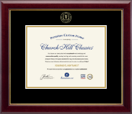 Academic Certificate Frames and Gifts Certificate Frame - Embossed Academic Certificate Frame in Gallery
