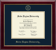 Salve Regina University  Diploma Frame - Gold Embossed Diploma Frame in Gallery