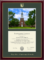 Baker Library Photo Edition (by Christopher Jenny'12) Diploma Frame
