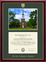 Dartmouth College Diploma Frame - Baker Library Photo Edition (by Christopher Jenny'12) Diploma Frame in Gallery
