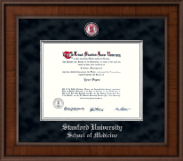 Stanford University Diploma Frame - Presidential Masterpiece Diploma Frame in Madison