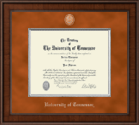 The University of Tennessee Knoxville Diploma Frame - Presidential Masterpiece Diploma Frame in Madison