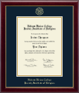 Hebrew Union College Diploma Frame - Gold Embossed Diploma Frame in Gallery