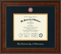 University of Oklahoma Sooners Home Office Diploma Picture Frame