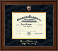 Boston University Diploma Frame - Presidential Masterpiece Diploma Frame in Madison