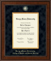 George Mason University Diploma Frame - Presidential Masterpiece Diploma Frame in Madison