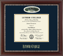 Luther College Diploma Frame - Campus Cameo Diploma Frame in Chateau