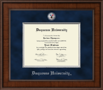 Duquesne University Diploma Frame - Presidential Masterpiece Diploma Frame in Madison