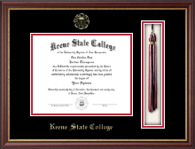 Keene State College Diploma Frame - Tassel Edition Diploma Frame in Newport