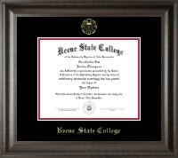 Keene State College Diploma Frame - Gold Embossed Diploma Frame in Acadia