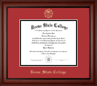 Keene State College Diploma Frame - Gold Embossed Diploma Frame in Cambridge