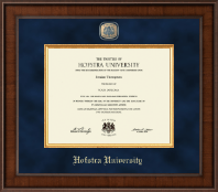 Hofstra University Diploma Frame - Presidential Masterpiece Diploma Frame in Madison