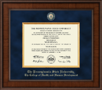 Pennsylvania State University Diploma Frame - Presidential Masterpiece Diploma Frame in Madison