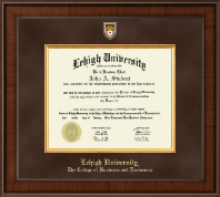 Lehigh University Diploma Frame - Presidential Masterpiece Diploma Frame in Madison
