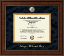 William & Mary Diploma Frame - Presidential Masterpiece Diploma Frame in Madison