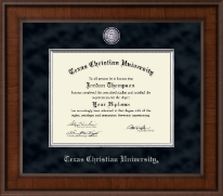 Texas Christian University Diploma Frame - Presidential Masterpiece Diploma Frame in Madison