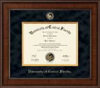 University of Central Florida Diploma Frame - Presidential Masterpiece Diploma Frame in Madison