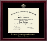 Pharmacy - Masterpiece Medallion Diploma Frame
