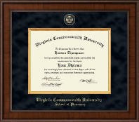 Virginia Commonwealth University Diploma Frame - Pharmacy - Presidential Masterpiece Diploma Frame in Madison