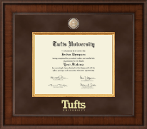 Tufts University Diploma Frame - Presidential Masterpiece Diploma Frame in Madison
