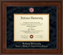Indiana University - Purdue University Columbus Diploma Frame - Presidential Masterpiece Diploma Frame in Madison
