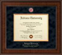 Indiana University Bloomington Diploma Frame - Presidential Masterpiece Diploma Frame in Madison