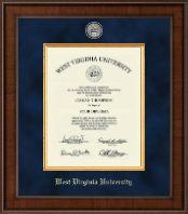 West Virginia University Diploma Frame - Presidential Masterpiece Diploma Frame in Madison