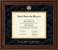 Loyola University Maryland Diploma Frame - Presidential Masterpiece Diploma Frame in Madison