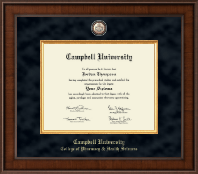 Campbell University Diploma Frame - Presidential Masterpiece Diploma Frame in Madison