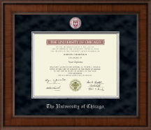 University of Chicago Diploma Frame - Presidential Masterpiece Diploma Frame in Madison