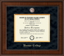 Vassar College Diploma Frame - Presidential Masterpiece Diploma Frame in Madison