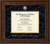 The University of Alabama at Birmingham Diploma Frame - Presidential Masterpiece Diploma Frame in Madison