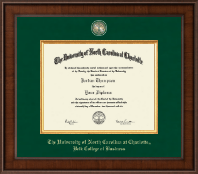 The University of North Carolina at Charlotte Diploma Frame - Presidential Masterpiece Diploma Frame in Madison