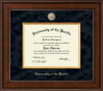 University of the Pacific Diploma Frame - Presidential Masterpiece Diploma Frame in Madison