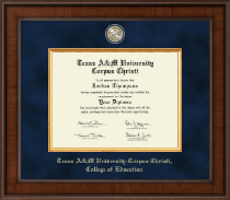Texas A&M University Corpus Christi Diploma Frame - Presidential Masterpiece Diploma Frame in Madison