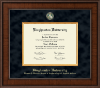Binghamton University Diploma Frame - Presidential Masterpiece Diploma Frame in Madison