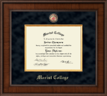 Marist College Diploma Frame - Presidential Masterpiece Diploma Frame in Madison