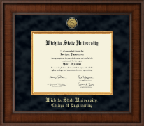 Wichita State University Diploma Frame - Presidential Masterpiece Diploma Frame in Madison
