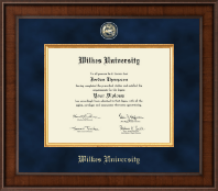 Wilkes University Diploma Frame - Presidential Masterpiece Diploma Frame in Madison