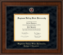 Saginaw Valley State University Diploma Frame - Presidential Masterpiece Diploma Frame in Madison
