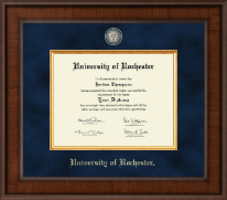 University of Rochester Diploma Frame - Presidential Masterpiece Diploma Frame in Madison