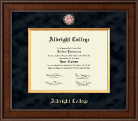 Albright College Diploma Frame - Presidential Masterpiece Diploma Frame in Madison