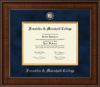 Franklin & Marshall College Diploma Frame - Presidential Masterpiece Diploma Frame in Madison