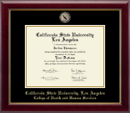 California State University Los Angeles Diploma Frame - Masterpiece Medallion Diploma Frame in Gallery