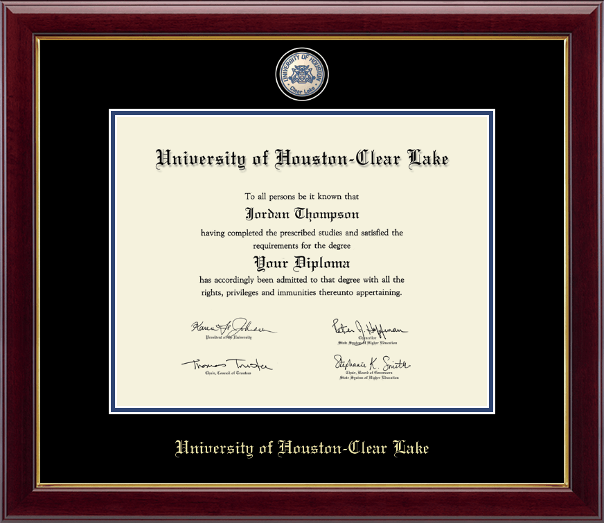 University Of Houston-Clear Lake Masterpiece Medallion