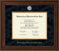 University of Houston-Clear Lake Diploma Frame - Presidential Masterpiece Diploma Frame in Madison