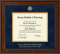 Georgia Institute of Technology Diploma Frame - Presidential Masterpiece Diploma Frame in Madison